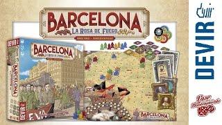 Barcelona: La Rosa de Fuego - Devir — Videoreseña