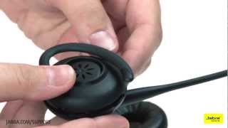 How to wear the Jabra GN9100 Series