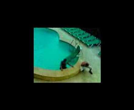 shrewsbury steve wheeler ..pug & matty hammer him in pool