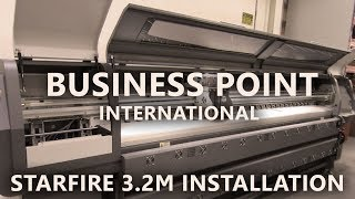 Starfire GZM 3.2 meter Installation by Business Point International ( BPI )