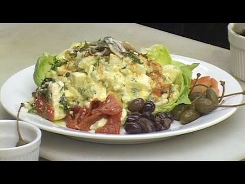 Egg Salad Mediterranean Style