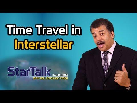 "Neil deGrasse Tyson Discusses Time Travel in ""Interstellar"""
