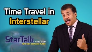Neil deGrasse Tyson Discusses Time Travel in