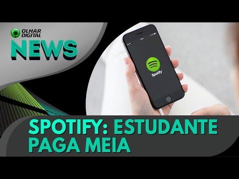 Spotify ganha 'meia-entrada' para estudantes brasileiros | OD News 19/04/2017