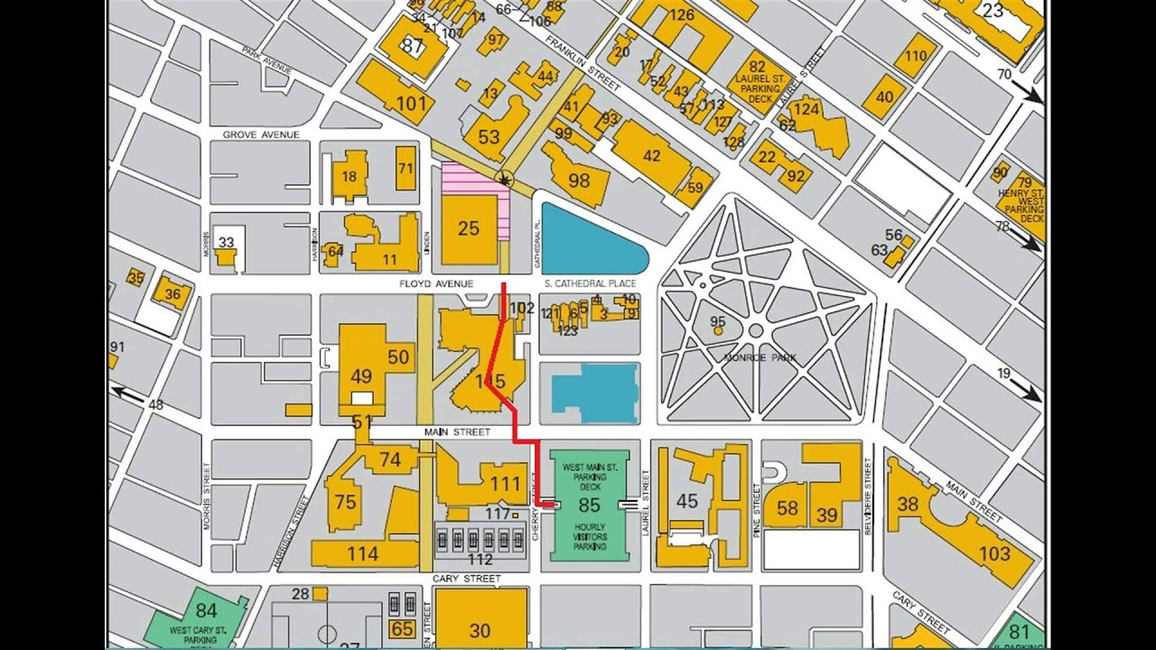 VCU map UMFS quick tour   YouTube