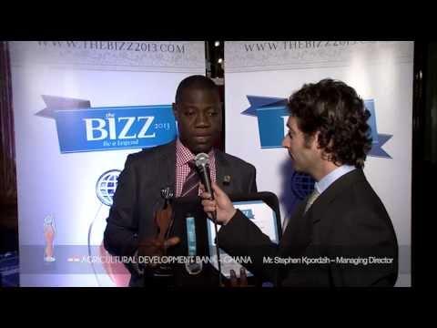 THE BIZZ 2013 - INTERVIEW AGRICULTURAL DEVELOPMENT BANK - GHANA