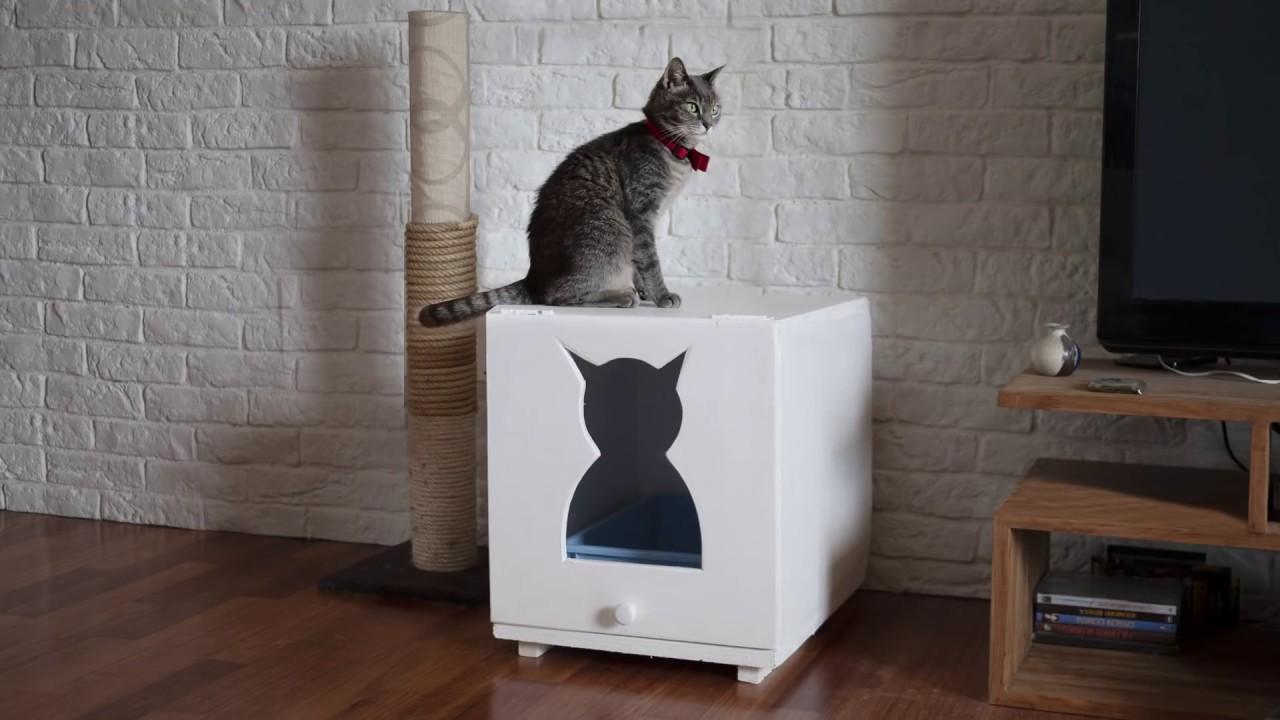 Costruire Lettiera Per Gatti costruire un box porta lettiera