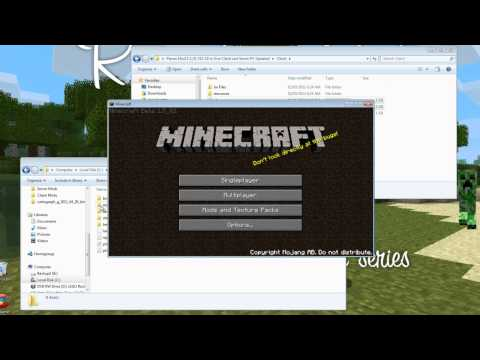 Minecraft: Vikom Media - PC 1.5_01 v12 Planes Mod Installation Tut - Client and Server