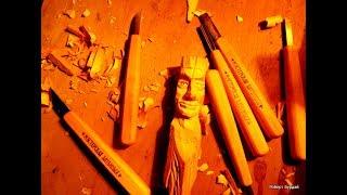 Минимальный набор инструмента для начинающего резчика по дереву. Резаки от Баулиных обзор