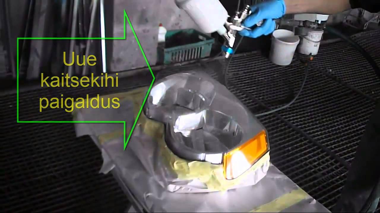 320b96897bd Plastik tulede kaitsekate taastamine - YouTube