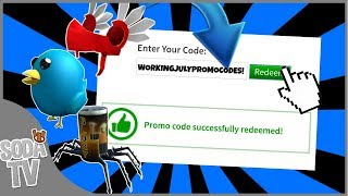 *ALL* WORKING PROMOCODES IN JULY 2019! | ROBLOX | PROMOCODES