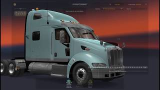 """Please Subscribe For More Videos     Details & Download From http://www.modhub.us/euro-truck-simulator-2-mods/peterbilt-387-v1-4-ets2-1-37-x-1-38-x/      Changelog v1.4 EXTERIOR: multiple edits of materials and textures of chrome parts to improve their appearance. added chrome version of the rear wings. for the Midroof and Sleeper cabs, a chrome tool box has been added to the frame on the left behind the cab. plastic side skirts were added for the Midroof cab option, a template was added for them. minor texture and mapping fixes for Midroof and Sleeper cabs, updated template. edits on shadow models.  INTERIOR: two models of 2DIN radio tape recorders were added (with a CD drive), one of them was also added with GPS or Apple CarPlay mode (in this case, an iPhone navigator is immediately installed). minor texture fixes.   The legendary American truck with a very high-quality model and textures. - Standalone registered in Peterbilt; - 3 cabins; - 5 chassis; - Support for advanced hitch; - Cable support; - 7 engines - 26 gearboxes Mack mDrive, Allison, Eaton Fuller and Meritor MaxiTorque; All engines and gearboxes with original parameters  - several options for the interior; - 3 display options on the dashboard; - Baked textures with high resolution; - A complete set of wheels and tires with ATS; - Realistic sound; - Support for DLC Cabin Accessories  Test version 1.37  Sound mods defs folder with separate mods with registration for compatibility with the released mods for the sound of various engine models from Robinicus You need to select the desired sound from Robinicus, then connect the desired registration file, Example sound CAT 3406E and registration file Peterbilt_387_def_Cat 3406E SP Engine Pack [1.37.x] .scs put above the truck, put the CAT 3406E engine when buying or in the service  """"Cummins M11 ESP"""" """"Cummins N14"""" """"Cummins ISX"""" """"CAT 3406E SP"""" """"C15 and SP"""" """"Detroit Diesel 60"""" """"Paccar MX-13""""  In the archive Peterbilt_387_v1.3.137_ets2.scs truck Peterbilt_387_v.1"""