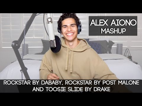 ROCKSTAR by DaBaby rockstar by Post Malone and Toosie Slide by Drake  Alex Aiono Mashups