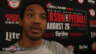 Benson Henderson comments on PED usage in MMA;