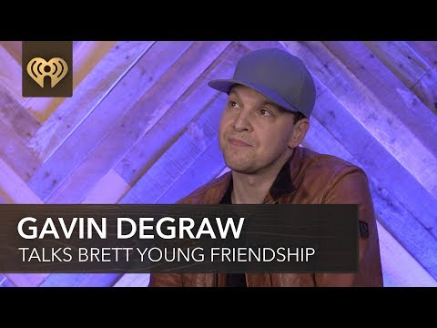 Gavin DeGraw Explains How He Became Friends With Brett Young | 2018 iHeartCountry Festival