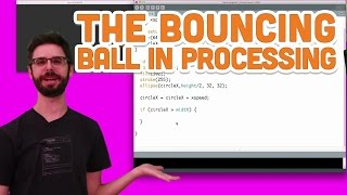 5.4 Learning Processing: The Bouncing Ball