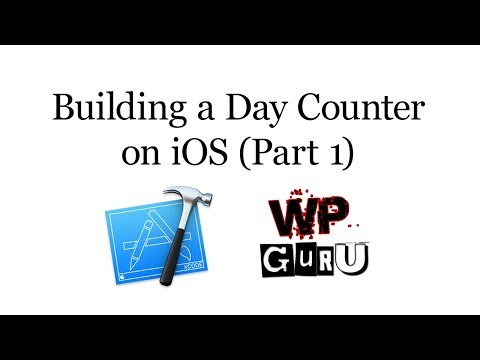 Building a Day Counter on iOS - Part 1