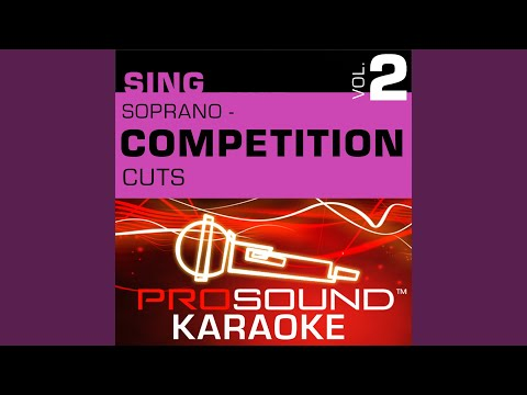 All That Jazz (Competition Cut) (Karaoke Instrumental Track) (In the Style of Catherine Zeta-Jones)