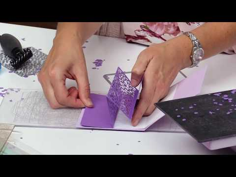 How To Use Background Dies To Create 3D Pop-Up Cards | Stephanie Barnard | Sizzix