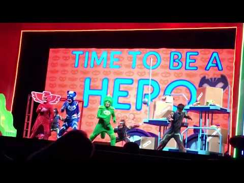"""PJ Masks """"Time To Be A Hero"""" Live @ McCaw Hall Seattle Center 12/5/17"""