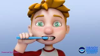 Kids Pediatric Teeth Brushing and Flossing