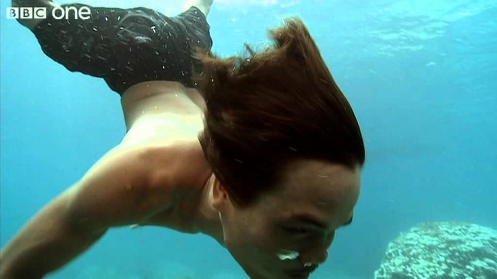 how moken children see with amazing clarity underwater