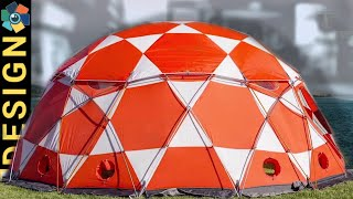 10 AWESOME TENTS, INFLATABLE, DOME and ROOF-TOP TENTS