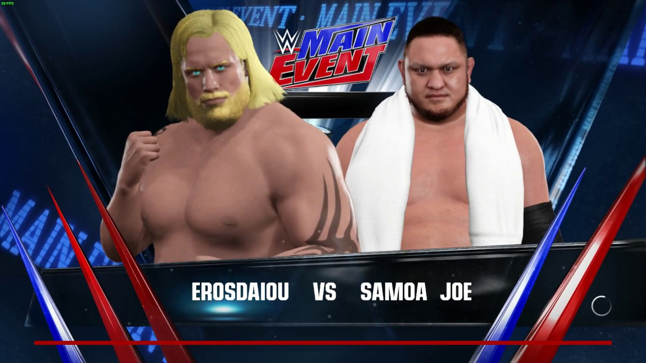 Download WWE 2K17 My Career Mode Ep 2 PC  FIRST PROMO  AT MAIN EVENT AND LIL  JOEY WANT A PIECE OF THE GIANT