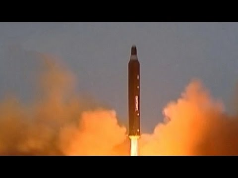 North Korea test-fires missile