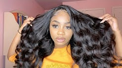 IS UNICE HAIR WORTH THE HYPE? | LOOSE WAVE FRONTAL WIG