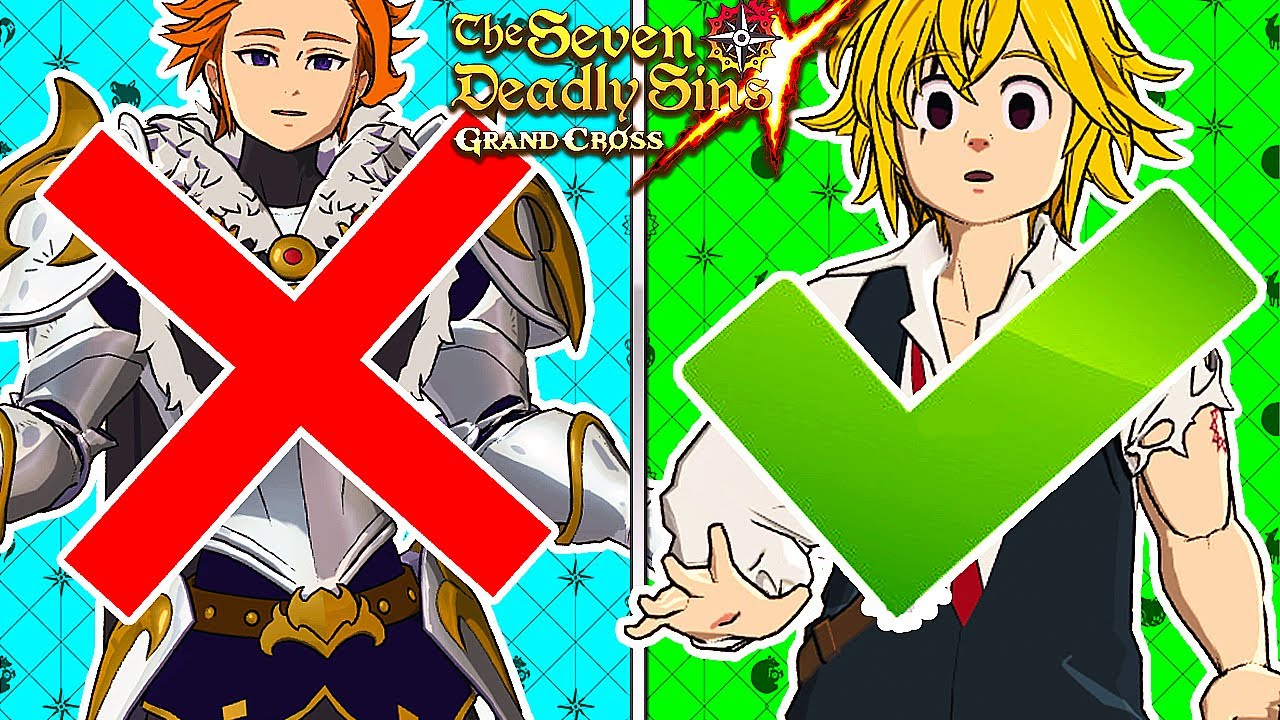 THE GLOBAL CHARACTER VOTES ARE HILARIOUS... | 7DS: Grand Cross