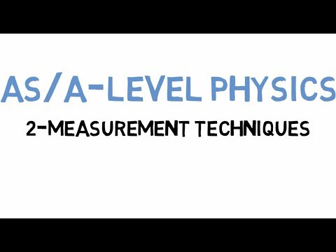 Ch 2 Measurement Techniques Part 2 AS-A Level Physics Urdu/Hindi