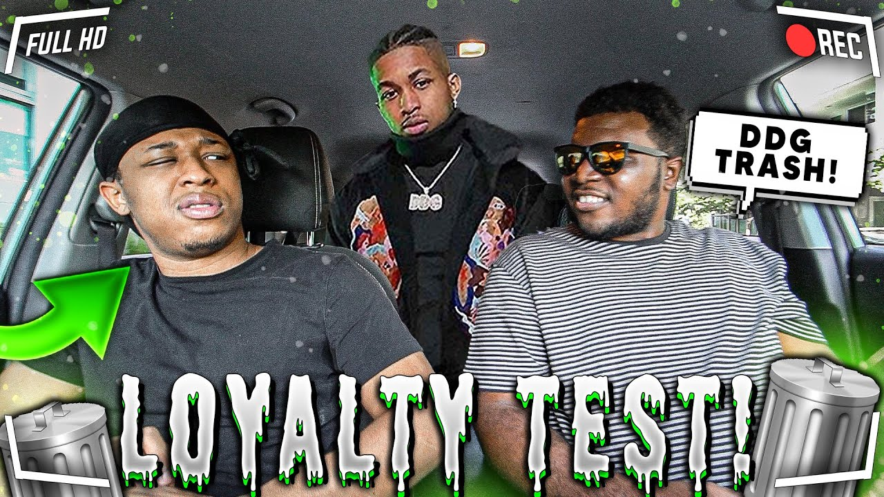 I Talked BAD About DDG To My Friend VONVON To See If He'll Tell Him . . | Loyalty Test