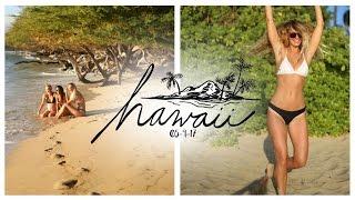 ON A BEACH IN HAWAII!!