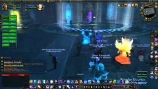 WowFirstWard Raid with Holy Vengeance - vale of eternal sorrows