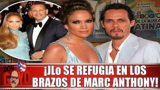 🔥 ¡Jennifer López se refugia en los brazos de Marc Anthony! 👀😲