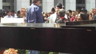 Adam Lambert CBS Early Show - Part 1b