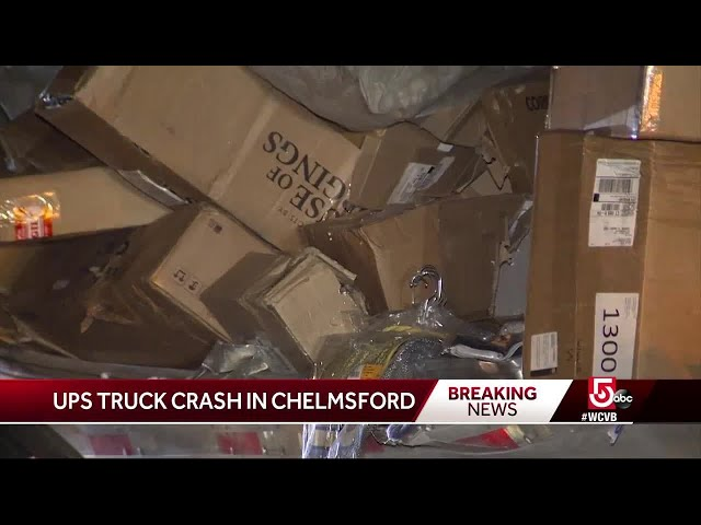 More than a thousand packages cover Massachusetts interstate