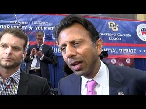 Bobby Jindal, Louisiana Governor speaks at CU Boulder