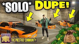 GTA 5 SOLO MONEY GLITCH 1.37 MAKE MILLIONS IN MINUTES!! 'LOWRIDER CAR DUPLICATION GLITCH' PS4/XB1/PC