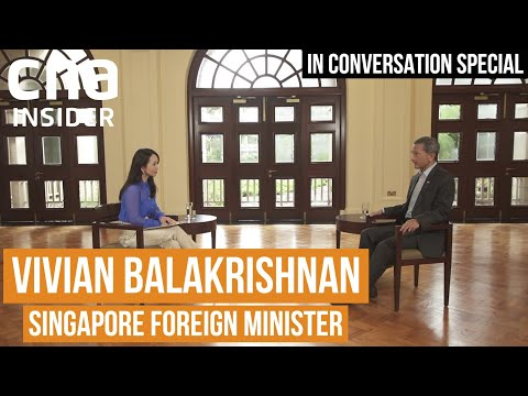 Singapore's Place In The World Stage | In Conversation | Dr Vivian Balakrishnan, Foreign Minister