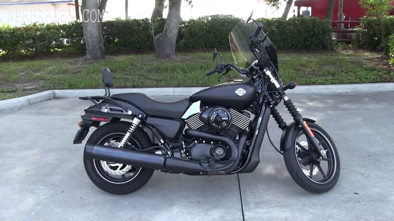 Used 2015 Harley Davidson Xg750 Street 750 For Sale Youtube