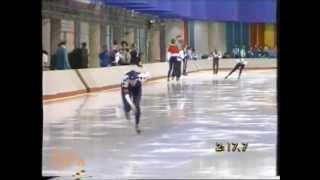 Winter Olympic Games Calgary 1988 - 5 km Lapuga - Van Gennip (WR)