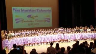 朗思國際幼稚園畢業典禮 20160614 唱國歌