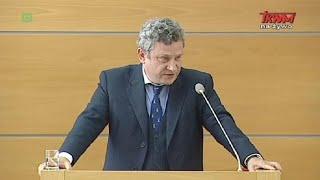 Konferencja naukowa w WSKSiM - wystąpienie Dariusza Sobkowa