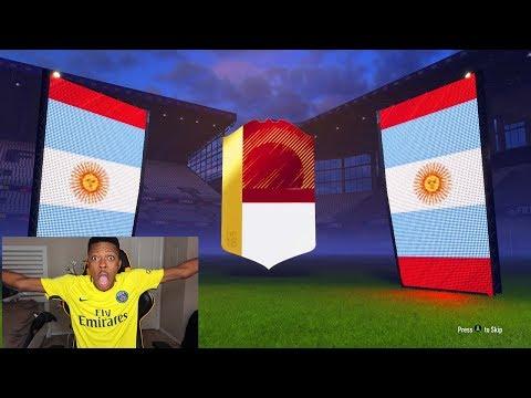 OMG RED MESSI?? FUT CHAMPIONS MONTHLY REWARDS - FIFA 18