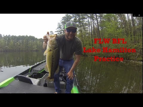 FLW BFL Lake Hamilton Practice