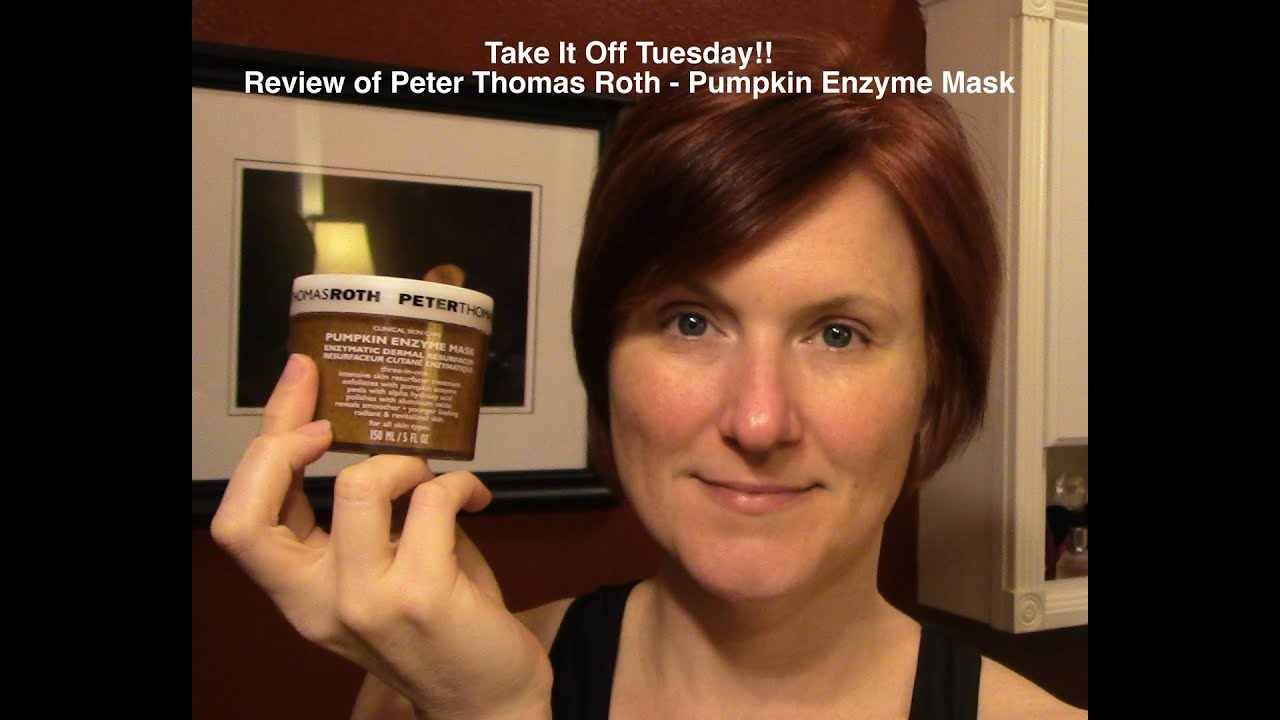 peter thomas pumpkin enzyme mask