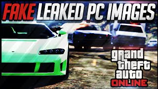 Fake GTA 5 Leaked PC Images! (GTA 5 PC News) Screenshots for PC Fake!