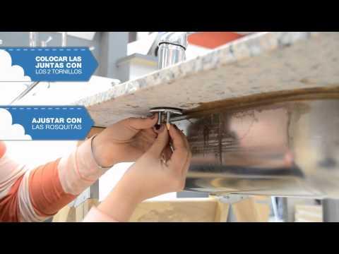 Instalar grifo monomando de lavabo doovi for Llave ducha sodimac
